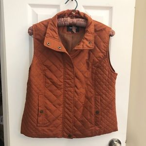 Nine West Quilted Vest